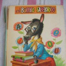 Libros antiguos: EL BURRITO SABELOTODO. Lote 54293308