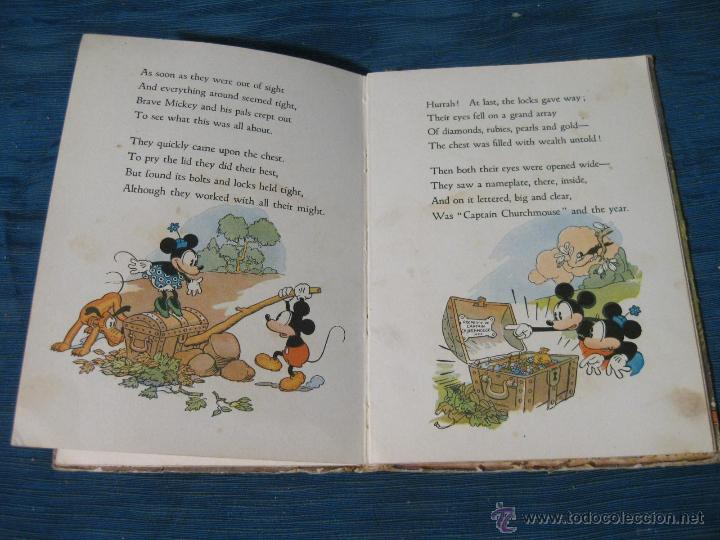 Libros antiguos: THE ADVENTURES OF MICKEY MOUSE. BOOK NUMBER 2. DAVID MACKAY COMPANY. WALT DISNEY 1932 - Foto 5 - 54295183