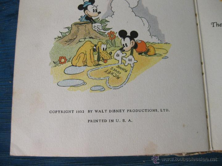 Libros antiguos: THE ADVENTURES OF MICKEY MOUSE. BOOK NUMBER 2. DAVID MACKAY COMPANY. WALT DISNEY 1932 - Foto 6 - 54295183
