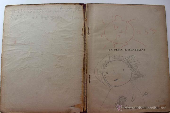 Libros antiguos: En Perot l'escabellat. Der Struwwelpeter.Heinrich Hoffmann. Primera edició, 1913. Català - Foto 2 - 54512390