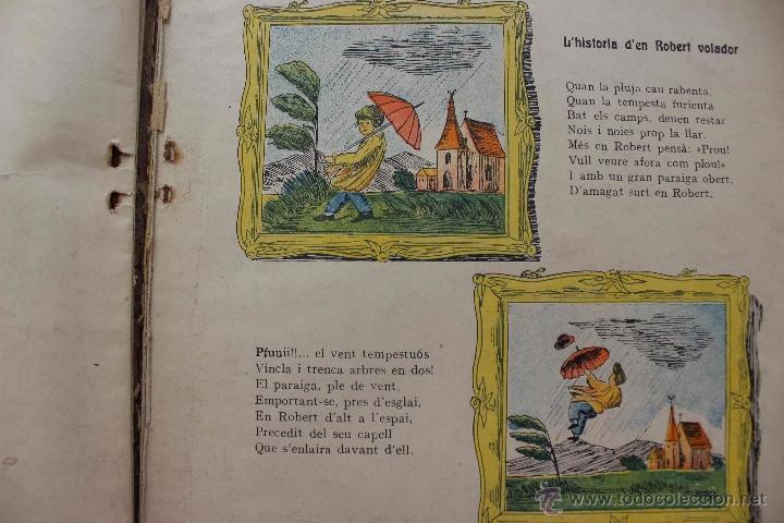 Libros antiguos: En Perot l'escabellat. Der Struwwelpeter.Heinrich Hoffmann. Primera edició, 1913. Català - Foto 3 - 54512390
