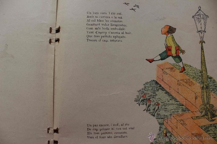 Libros antiguos: En Perot l'escabellat. Der Struwwelpeter.Heinrich Hoffmann. Primera edició, 1913. Català - Foto 4 - 54512390