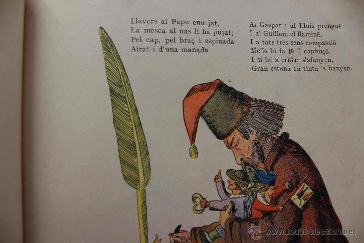 Libros antiguos: En Perot l'escabellat. Der Struwwelpeter.Heinrich Hoffmann. Primera edició, 1913. Català - Foto 6 - 54512390