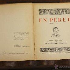 Libros antiguos: 7186 - EN PERET. LOLA ANGLADA I SARRIERA. IMP. JOAN SALLENT. S/F.. Lote 53973708