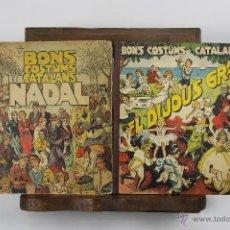 Libros antiguos: 5634- BONS COSTUMS CATALANS. 4 TITULOS. M.B. EDIT. FOMENT DE PIETAT. 1934.. Lote 46254112