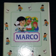 Libros antiguos: MARCO - COLECCIÓN COMPLETA DE LOS 35 FASCÍCULOS CON TAPAS ORIGINALES 28,5 X 21 CM.. Lote 54866631
