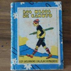 Libros antiguos: LOS HIJOS DE CANUTO. ED.SATURNINO CALLEJA S.A, BIBLIOTECA RECREO, TOMO XXXVIII.AÑO 1915 A 1928. Lote 54905905