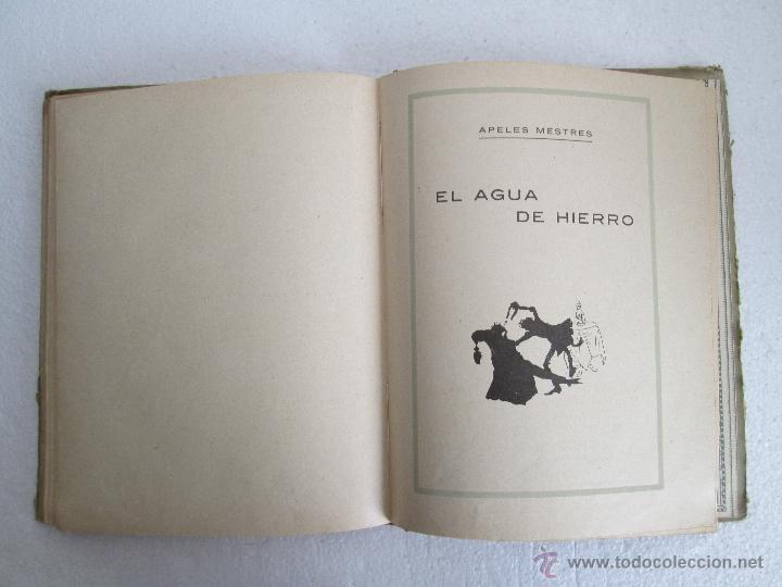 Libros antiguos: DOS LIBROS: CUENTOS VIVOS. APELES MESTRES. SERIE PRIMERA Y SEGUNDA. 1929 Y 1931. VER FOTOGRAFIAS - Foto 20 - 54947157