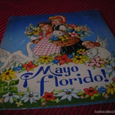 Libros antiguos: PRECIOSO CUENTO DIORAMA.MAYO FLORIDO.ILUSTRACIONES DE M. NIUBÓ . Lote 55360707