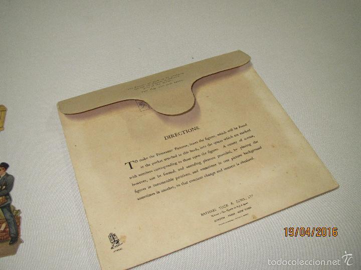 Libros antiguos: Antiguo Cuento con Imágenes Litografiadas Moviles y Desplegables EXPRES TRAIN PANORAMA Año 1920-30s - Foto 9 - 156386472