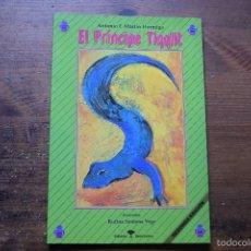 Libros antiguos: EL PRINCIPE TIQQLIT, ANTONIO MARTIN HORMIGA, BENCHOMO1993, ILUSTRACIONES RUFINA SANTANA VEGA. Lote 56500685