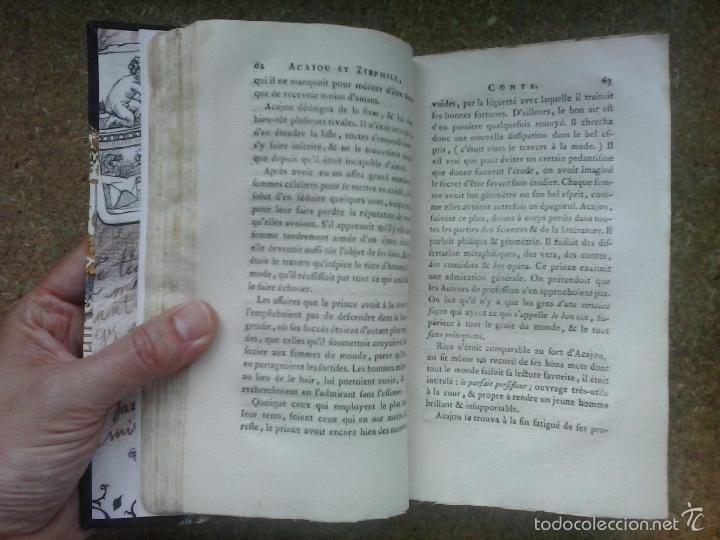 Libros antiguos: Cuentos de hadas siglo XVIII. Le cabinet des fées ou Collection choisie des contes (1786) ¡¡Bonito!! - Foto 10 - 78469961