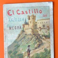 Libri antichi: EL CASTILLO DEL AGUILA NEGRA - HIJOS DE S. RODRIGUEZ - BURGOS. Lote 56657462