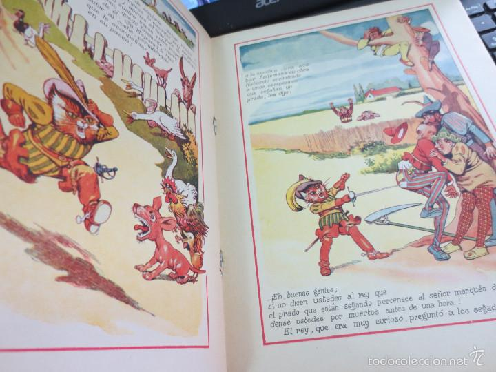 Libros antiguos: CUENTO DE PERRAULT CUENTOS EN COLOR IV MICIFUZ EL DE LAS BOTAS EDIT RAMON SOPENA AÑOS 30 - Foto 3 - 56715776