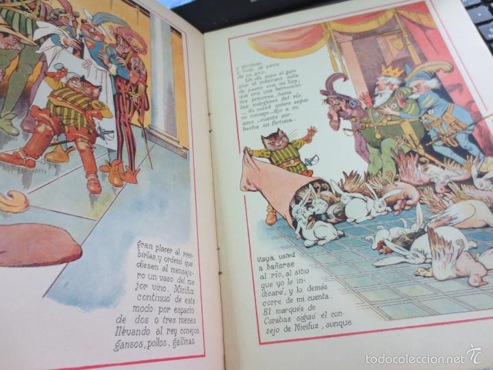 Libros antiguos: CUENTO DE PERRAULT CUENTOS EN COLOR IV MICIFUZ EL DE LAS BOTAS EDIT RAMON SOPENA AÑOS 30 - Foto 4 - 56715776