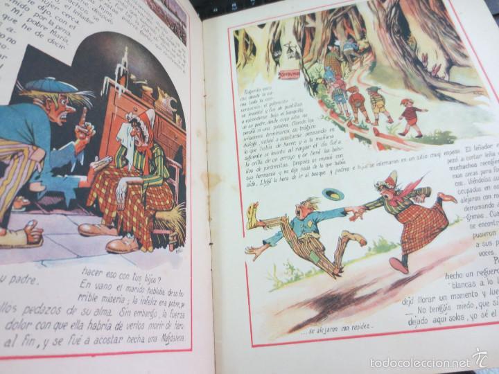 Libros antiguos: CUENTO DE PERRAULT CUENTOS EN COLORES I PULGARCITO EDIT RAMON SOPENA AÑOS 30 - Foto 2 - 56715826