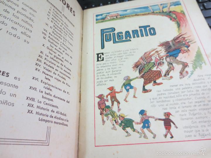 Libros antiguos: CUENTO DE PERRAULT CUENTOS EN COLORES I PULGARCITO EDIT RAMON SOPENA AÑOS 30 - Foto 3 - 56715826