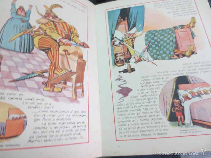 Libros antiguos: CUENTO DE PERRAULT CUENTOS EN COLORES I PULGARCITO EDIT RAMON SOPENA AÑOS 30 - Foto 5 - 56715826