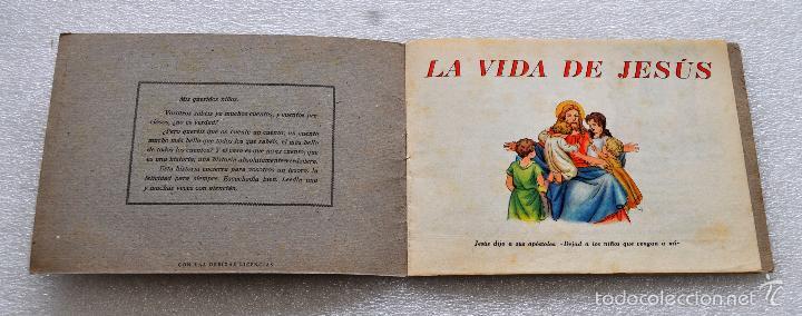 Libros antiguos: CUENTO PARA NIÑOS TITULADO LA VIDA DE JESUS. EDICIONES PAULINAS (MADRID) - Foto 3 - 56731351
