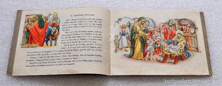Libros antiguos: CUENTO PARA NIÑOS TITULADO LA VIDA DE JESUS. EDICIONES PAULINAS (MADRID) - Foto 4 - 56731351