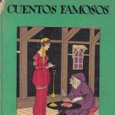 Libros antiguos: CUENTOS DE CALLEJA. CUENTOS FAMOSOS. MADRID, 1935.. Lote 56834414