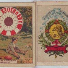 Libros antiguos: CUENTO LA SUERTE DE HIJOS DE S. RODRÍGUEZ AÑOS 1920. Lote 56972179