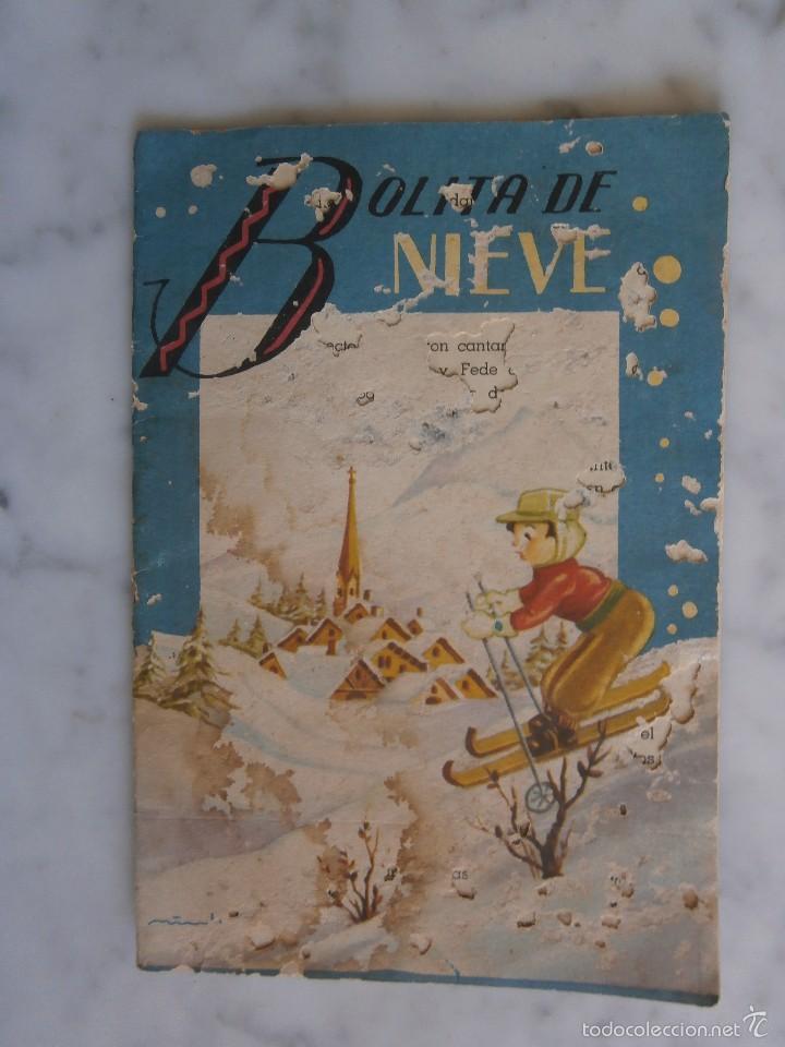 CUENTO BOLITA DE NIEVE EDITORIAL ROMA (Libros Antiguos, Raros y Curiosos - Literatura Infantil y Juvenil - Cuentos)