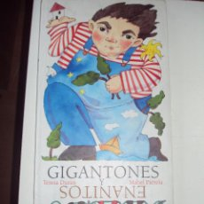 Libros antiguos: GIGANTONES Y ENANITOS - TERESA DURÁN. Lote 57239740