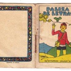 Libros antiguos: CUENTOS DE CALLEJA PALIZA DE LETRAS . Lote 57482703