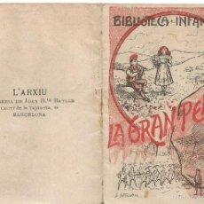 Libros antiguos: RONDALLA LA GRAN PENYA BIBLIOTECA INFANTIL IMPRENTA LITOGRAFIA JOAN JUTGLAR LLIBRERIA L´ARCHIU. Lote 57562845