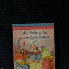 Libros antiguos: ALI BABA UN CUENTITO FHER MINI CUENTO DE EDITORIAL FHER 5,5 X 7 CMS TAPA BLANDA. Lote 57593591