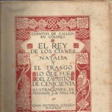 Libros antiguos: CUENTOS DE CALLEJA EN COLORES - ILUSTRACIONES PENAGOS Y MILLAR A.1916 ORIGINAL. Lote 57725855