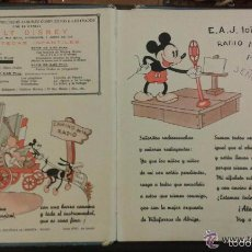 Libros antiguos: ABECEDARIO MUSICAL DE MICKEY POR WALT DISNEY, SINFONIAS INOCENTES, PARTITURA, AÑO 1936. Lote 57725954