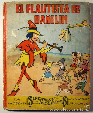 Disney, walt - el flautista de hamelin - madrid - Vendido