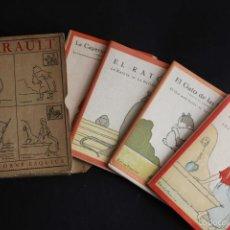 Libros antiguos: 4 CUENTOS DE PERRAULT CON ILUSTRACIONES TORNÉ ESQUIUS. HADAS, GATO BOTAS, EL RATÓN, CAPERUCITA, 1918. Lote 58127264