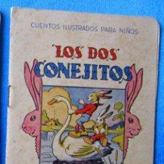 Libros antiguos: CUENTOS ILUSTRADOS PARA NIÑOS. LOS DOS CONEJITOS. EDITORIAL RAMON SOPENA, BARCELONA, S/F.. Lote 58258210