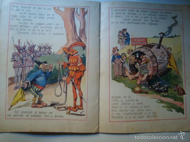 Libros antiguos: BERTOLDO Y BERTOLDINO - DELLA CROCE (SOPENA, AÑOS 30). ILUSTRACIONES COLOR ASHA. - Foto 2 - 58379402