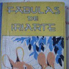 Libros antiguos: FABULAS DE IRIARTE SATURNINO CALLEJA 126 PG .8ª. Lote 58619239