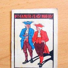 Libros antiguos: DON CANUTO Y SESOS HUECOS - CUENTO-CUENTOS DE CALLEJA - JOYAS PARA NIÑOS - SERIE XI - TOMO 201. Lote 59039895