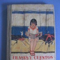 Livros antigos: FRASES Y CUENTOS PARA NIÑOS, MATEO JIMENES AROCA, EDT SATURNINO CALLEJA, MADRID. Lote 59904275