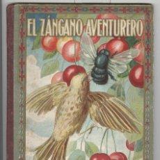 Libros antiguos: EL ZÁNGANO AVENTURERO. ED. BLAS CAMI 1916. LOMO EN TELA. ILUSTRADO POR RICARDO OPISSO.. Lote 60231539