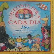 Libros antiguos: UN CONTE PARA A CADA DIA. Lote 61747260