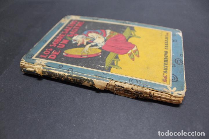 Libros antiguos: L- 3979. LOS SOBRESALTOS DE UN SASTRE, ED. SATURNINO CALLEJA. - Foto 12 - 61979556