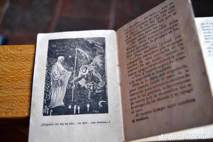 Libros antiguos: 2 ANTIGUOS MINI CUENTOS CALLEJA * BLANCA LA HUERFANITA 1891 * EL MEDICO AMBICIOSO 1891 - Foto 3 - 62076208