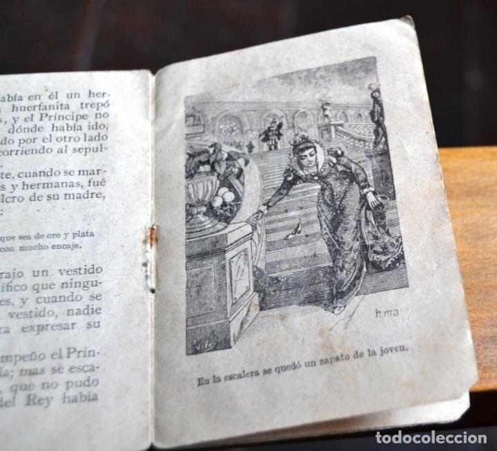 Libros antiguos: 2 ANTIGUOS MINI CUENTOS CALLEJA * BLANCA LA HUERFANITA 1891 * EL MEDICO AMBICIOSO 1891 - Foto 4 - 62076208