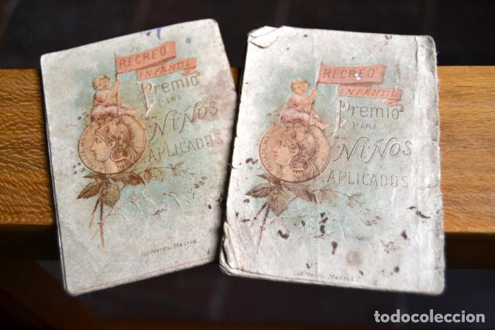 Libros antiguos: 2 ANTIGUOS MINI CUENTOS CALLEJA * BLANCA LA HUERFANITA 1891 * EL MEDICO AMBICIOSO 1891 - Foto 5 - 62076208