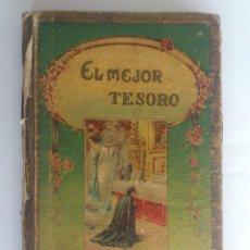 Libros antiguos: EL MEJOR TESORO, COLECCION DE CUENTOS ESCOGIDOS, HIJOS DE SANTIAGO RODRIGUEZ, BURGOS. Lote 62301888