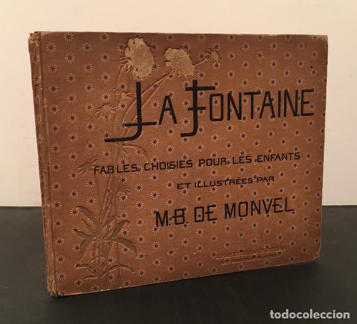 Libros antiguos: 1888 LA FONTAINE & BOUTET de MONVEL: Fables choisies pour les enfants et illustrées - FABULAS - Foto 2 - 62598792