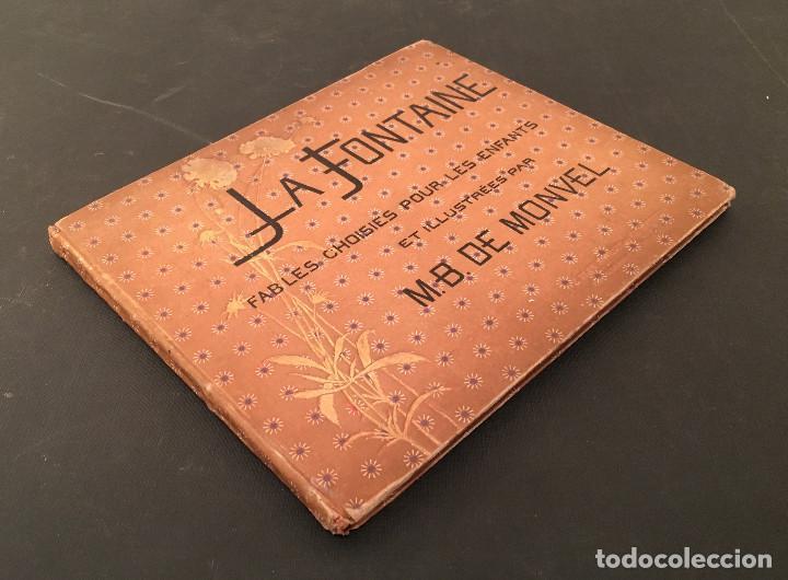 Libros antiguos: 1888 LA FONTAINE & BOUTET de MONVEL: Fables choisies pour les enfants et illustrées - FABULAS - Foto 3 - 62598792