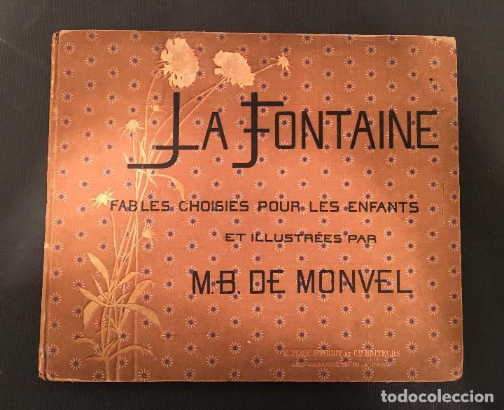 Libros antiguos: 1888 LA FONTAINE & BOUTET de MONVEL: Fables choisies pour les enfants et illustrées - FABULAS - Foto 5 - 62598792